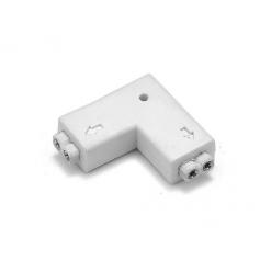Oem - 18.6mm 2-pin L LED Strip Connector Adapter for SMD 3528 2835 Solid color LED Strip Lights - LED connectors - LSC08-CB