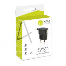AMA Europe, Travel Charger - 2A micro USB, Ac charger, H032