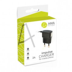 AMA Europe - Travel Charger - 2A micro USB - Ac charger - H032