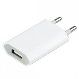 HOCO, USB 1A Universal AC Charger SLIM version White, Ac charger, H038