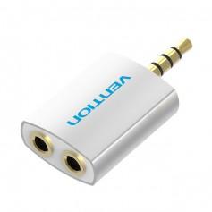 3.5 mm Male to 2 x 3.5 mm Female Audio Splitter Adapter
