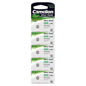 Camelion - Camelion Silver Oxide SR60 /364 1.55V Watch Battery - Button cells - BS186-CB