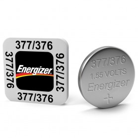 Energizer, Energizer Watch Battery 376/377 1.55V, Button cells, BS195-CB