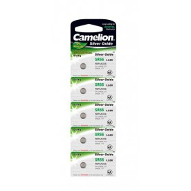 Camelion, Camelion Silver Oxide SR66W/377 1.55V Watch Battery, Button cells, BS196-CB
