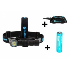 OLIGHT, Olight H2R Nova headlamp with Olight 3.7V 18650 3000mAh rechargeable battery, Flashlights, NK381