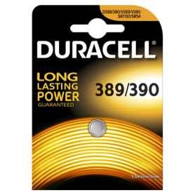Duracell - Duracell Watch Battery 389-390 / G10 / SR1130W 1.5V 85mA - Button cells - BS200-CB