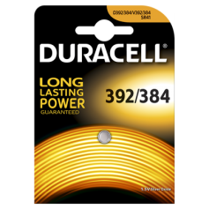 Duracell Watch Battery 392-384/G3/SR41W 1.5V 41mAh