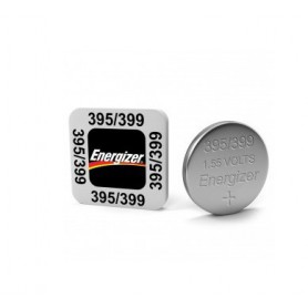 Energizer - Energizer Watch Battery 395 / 399 SR927SW 52mAh 1.55V - Button cells - BS213-CB