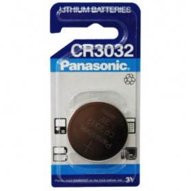 Panasonic - Panasonic CR3032 500mAh 3V lithium battery - Button cells - BS214-CB
