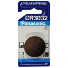 Panasonic CR3032 500mAh 3V lithium battery