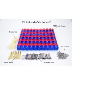 VRUZEND - Vruzend DIY battery set for up to 52 18650 cells - Battery accessories - NK386 www.NedRo.us