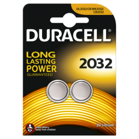 Duracell - Duracell CR2032 3V lithium battery - 2 Pieces - Button cells - BS222-CB