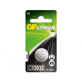 GP - GP CR2032 210mAh 3V Lithium battery - Button cells - BS224-CB