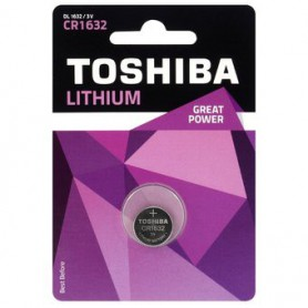 Toshiba - Toshiba CR1632 125mAh 3V Lithium battery - Button cells - BL110-CB