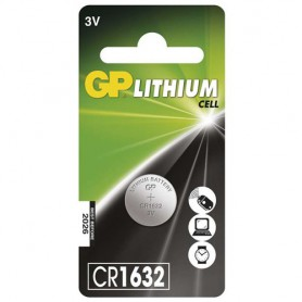 GP - GP CR1632 125mAh 3V Lithium battery - Button cells - BS233-CB