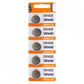 Vinnic - Vinnic CR1632 125mAh 3V Lithium battery - Button cells - BL272-CB