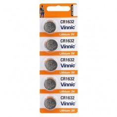 Vinnic - Vinnic CR1632 125mAh 3V Lithium battery - Button cells - BL272-CB