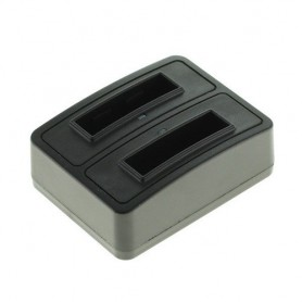 OTB - Dual Battery Chargingdock compatible with Fuji NP-50 / D-LI68 / Klic-7004 - Fujifilm photo-video chargers - ON1862 www....