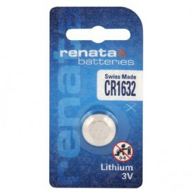 Renata, Renata CR1632 137mAh 3V Lithium battery, Button cells, NK388-CB