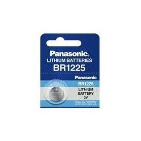Panasonic - Panasonic Professional BR1225 CR1225 P183 48mAh 3V battery - Button cells - BL037-CB