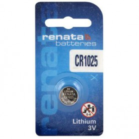 Renata - Renata CR1025 30mAh 3V battery - Button cells - BL273-CB