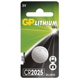 GP - GP CR2025 3v lithium button cell battery - Button cells - BS242-CB