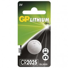 GP CR2025 3v lithium button cell battery
