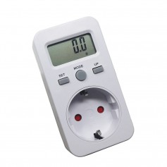 Calex, Digital Wattmeter with LCD Display AC 230V 16A 3680W, Plugs and Adapters, AL1033