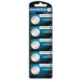 EverActive, Battery everActive CR2016 6016 90mAh 3V, Button cells, BL051-CB