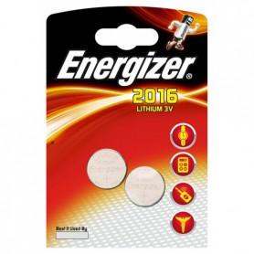 Energizer - Battery Energizer CR2016 6016 90mAh 3V - 2 Pieces - Button cells - BL279-CB