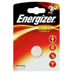 Energizer - Battery Energizer CR2016 6016 90mAh 3V - Button cells - BS248-CB