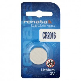 Renata - Battery Renata CR2016 6016 90mAh 3V - Button cells - BL281-CB