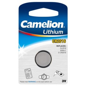 Camelion - Battery Camelion CR2016 6016 90mAh 3V - Button cells - BS252-CB