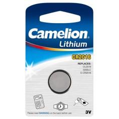 Camelion - Battery Camelion CR2016 6016 90mAh 3V - Button cells - BS252-CB