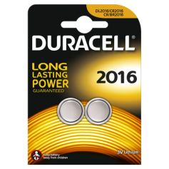 Battery Duracell CR2016 6016 90mAh 3V