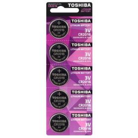Toshiba, Battery Toshiba CR2016 6016 90mAh 3V, Button cells, BL283-CB
