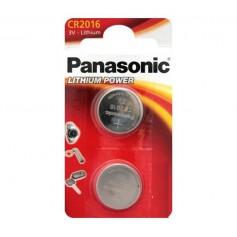 Panasonic - Panasonic CR2016 (Double pack) 3V 90mAh - Button cells - BL244-CB