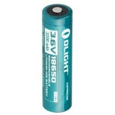 OLIGHT - Olight 3200mAh 3.6V 18650 Rechargeable Li-ion Battery for R20 - Size 18650 - NK391-CB