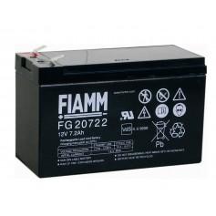 Fiamm - Fiamm FG 12V 7.2Ah (6,3mm) 7200mAh Rechargeable Lead Acid Battery - Battery Lead-acid  - NK392