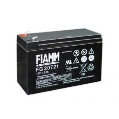 Fiamm - Fiamm FG 12V 7.2Ah (4,8mm) 7200mAh Rechargeable Lead Acid Battery - Battery Lead-acid  - NK393