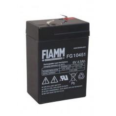 Fiamm FG 6V 4,5Ah 4500mAh Rechargeable Lead Acid Battery