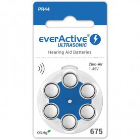 EverActive - everActive ULTRASONIC 675 Hearing Aid Battery - Hearing batteries - BL284-CB