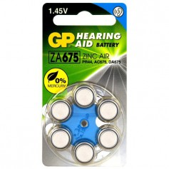 GP - GP 675 / ZA675 / PR44 Hearing Aid Battery 1.45V - Hearing batteries - BL285-CB