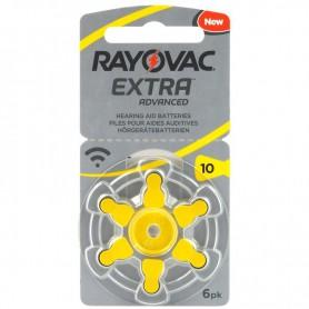 Rayovac - Rayovac Extra Advanced 10MF Hg 0% Hearing Aid Battery 1.45V - Hearing batteries - BS264-CB