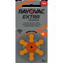 Rayovac - Rayovac Extra Advanced 13 MF Hearing Aid Battery - Button cells - BS266-CB www.NedRo.us