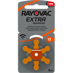 Rayovac - Rayovac Extra Advanced 13 MF Hearing Aid Battery - Hearing batteries - BS266-CB