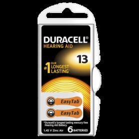 Duracell - Duracell ActivAir Hearing Aid DA13 1.45V Hearing Aid Battery - Hearing batteries - BS267-CB