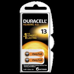 Duracell ActivAir Hearing Aid DA13 1.45V Hearing Aid Battery