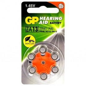 GP - GP 13 / ZA13 / PR48 1.45V Hearing Aid Battery - Hearing batteries - BL289-CB
