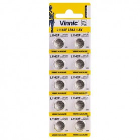 Vinnic - Vinnic G12 / AG12 / L1142 / LR43 / 186 / V12GA / RW84 / D186 1.5V battery - Button cells - BL290-CB